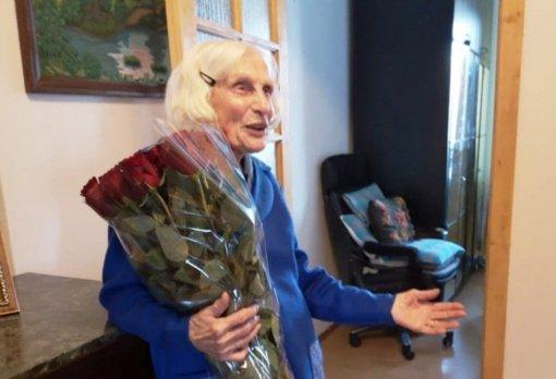 Riešės seniūnijos gyventoja Petronėlė Lukenskienė mini 100-ąjį jubiliejų