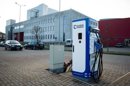 Elektromobilių įkrovimo stotelės Marijampolėje – jau netrukus