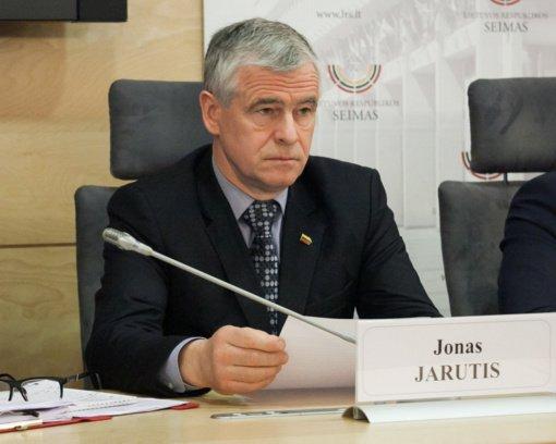 """V. Čmilytė-Nielsen teiks """"valstiečio"""" J. Jaručio kandidatūrą į Seimo vicepirmininkus"""