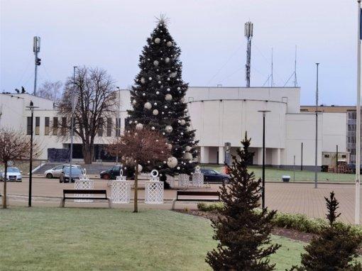 Prienų Kalėdų eglės įžiebimą kviečia stebėti nuotoliniu būdu