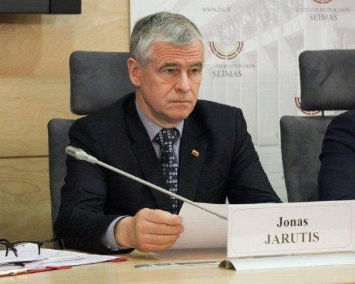 """""""Valstietis"""" J. Jarutis išrinktas Seimo vicepirmininku"""