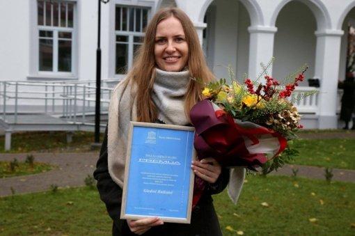 Bibliotekos darbuotojai – UNESCO klubo premija