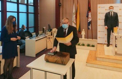Į Šiaulių miesto tarybą sugrįžo P. Nainys