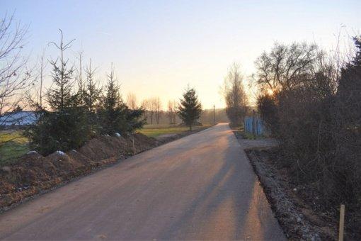 Širvintų rajone toliau tvarkomos gatvės