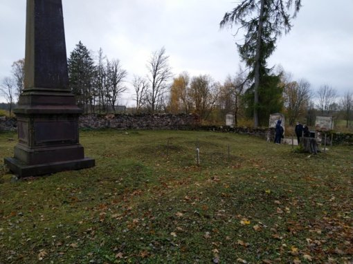 Parengtos rekomendacijos dvarininkų Komarų kapinių tvarkymui