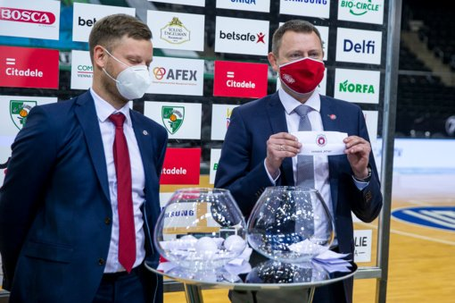 """KMT ketvirtfinalyje """"Juventus"""" vėl kausis su """"Rytu"""""""