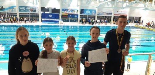 Iš Lietuvos plaukimo čempionato ignaliniečiai grįžo su keturiais medaliais