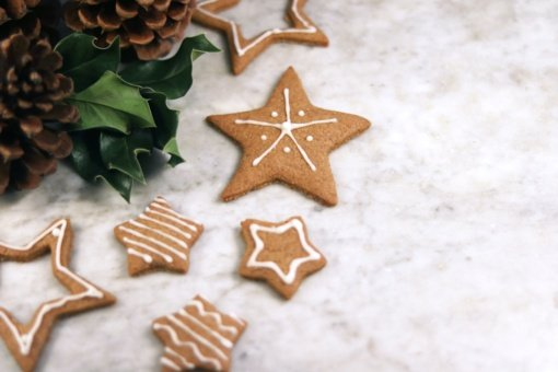 Paprasčiausi imbieriniai sausainiai Kalėdoms