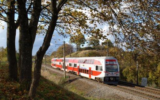 Elektriniais traukiniais – nuo Vilniaus iki Klaipėdos