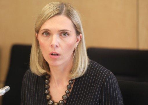 A. Bilotaitė Liuksemburge pristatys siūlymus dėl ES išorinės sienos apsaugos