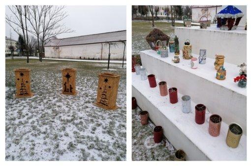 Tytuvėnuose – kalėdinių žibintų paroda