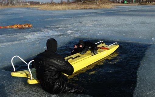 Inturkėje iš ežero ištrauktas skenduolis