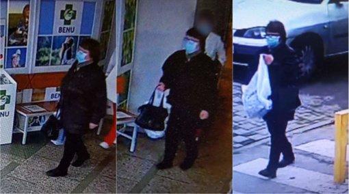 Alytaus policija prašo pagalbos: iš ligoninės pavogta moters rankinė