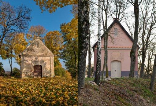 Restauruota Paparčių vienuolyno komplekso kapinių koplyčia