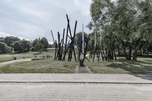 Paminklo žydų gelbėtojams Vilniuje idėjas pasiūlė 14 autorių