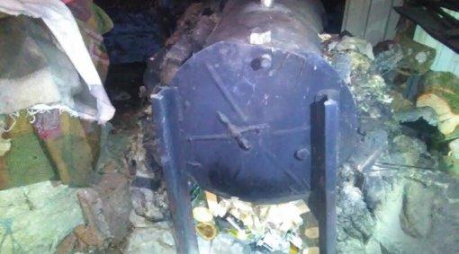 Širvintų policija rado 55 litrus skaidraus skysčio – Šv. Kalėdos bus blaivios