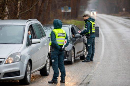 Klaipėdos apskrities postuose praėjusią parą patikrinti beveik 6 tūkst. automobilių