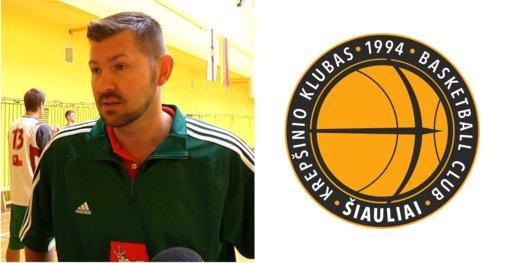 """BC """"Šiauliai"""" direktoriumi paskirtas Donatas Slanina"""