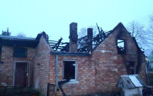 Miroslavo kaime gaisre žuvo du žmonės