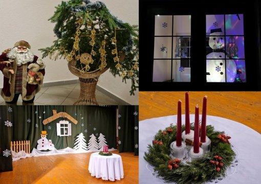 Strigailiškis puošiasi gražiausioms metų šventėms