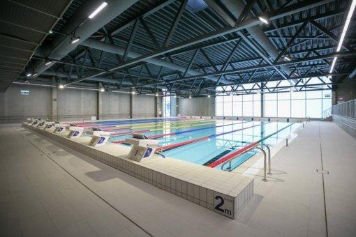 Vilniuje užsidarius baseinui, ieškoma, kaip jį vėl atverti sportininkams