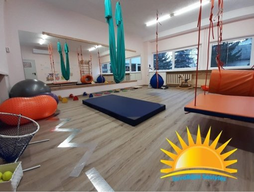 """Marijampolės vaikų dienos centre """"Suvalkijos saulytės"""" įrengta sporto erdvė"""