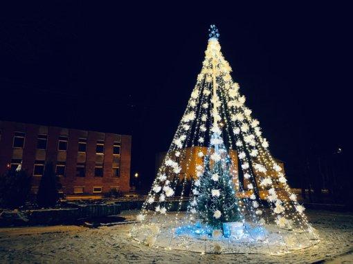Gražiausių kalėdinių eglučių kūrėjai pelnė Kauno rajono savivaldybės dovanų (galerija)