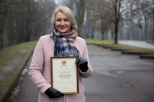 Vilniaus rajono verbų rišėja Agata Granicka – 2020 metais sėkmingiausiai dirbanti amatininkė