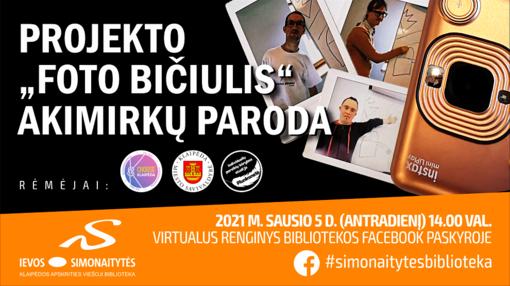 Virtualūs renginiai Ievos Simonaitytės bibliotekoje