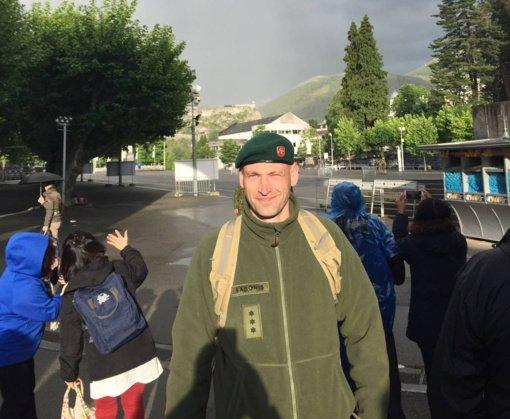 Bažnytinės teisės daktaras kunigas Mindaugas Sabonis apie save, tikėjimą, kariuomenę ir Jėzaus dvasią
