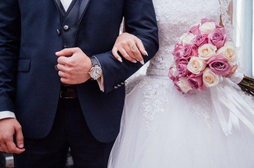 2020 metais susituokė 16 tūkst. porų, populiariausi vestuvėms – vasaros savaitgaliai