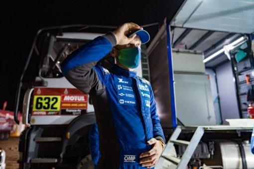 """Liūdna žinia Dakaro fanams: V. Žalos """"Mažylis"""" neatlaikė lenktynių"""