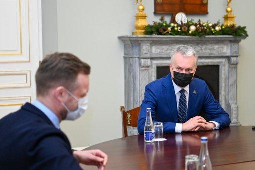 Prezidentas su užsienio reikalų ministru aptarė užsienio politikos aktualijas