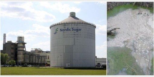 """Išsiliejus """"Nordic Sugar Kėdainiai"""" gamyklos teršalams vertinama žala"""