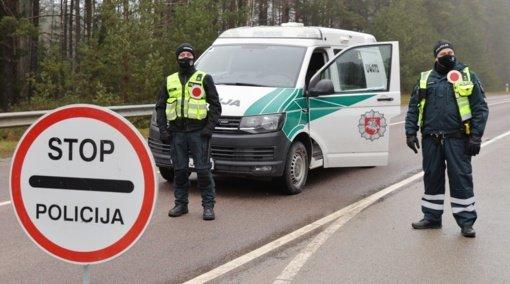 Utenos regione policija judėjimo kontrolę vykdys mobiliaisiais postais