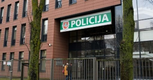 Klaipėdos policijos komisariate kilo gaisras