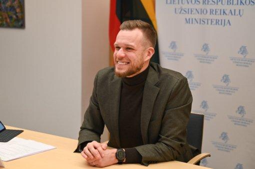 G. Landsbergis: situacija JAV siekia pasinaudoti problemų dėl demokratijos turinčios valstybės