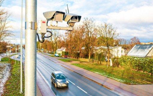 Valstybinės reikšmės keliuose – 70 naujos kartos momentinių greičio matuoklių
