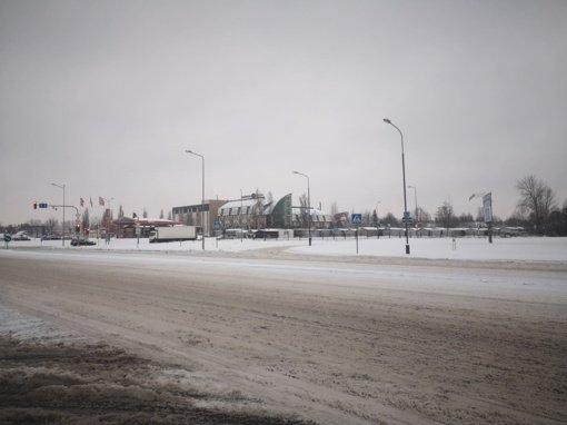 Nevalytos Šiaulių gatvės virto čiuožykla: kur dingo kelininkai?