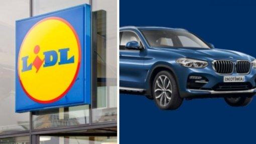 """""""Lidl"""" konkursas kursto aistras: BMW visureigį įtaria laimėjus teismo, kuriame bylų turi """"Lidl Lietuva"""", darbuotoją"""