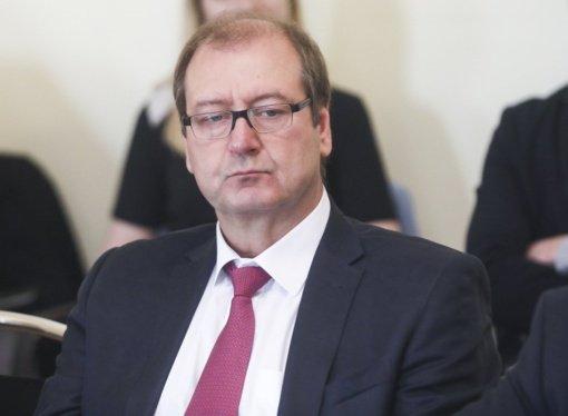 EP liberalai homofobija apkaltino V. Uspaskicho narystę svarstys kitą trečiadienį