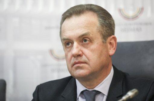 A. Guogą pakeisiantis A. Skardžius: V. Uspaskicho pasisakymus pakomentuosiu, kai būsiu Seimo narys