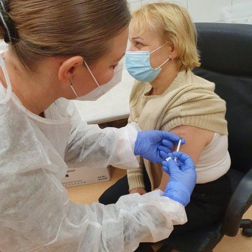 Prasidėjo vakcinacija nuo COVID-19 Kauno rajone