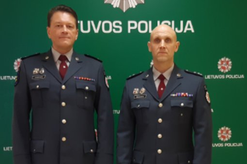 Darbą Zarasų policijoje baigė Reagavimo skyriaus viršininkas Andrejus Jančevskis