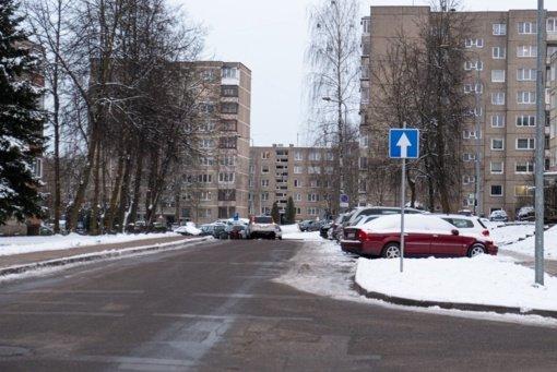 Jaunimo gatvėje vienpusis eismas išlieka iki birželio