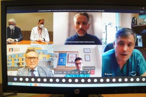 Šiaurės Lietuvos medikams – pirmoji Lietuvoje nuotolinė COVID-19 ligos gydymui skirta mokslinė-praktinė konferencija