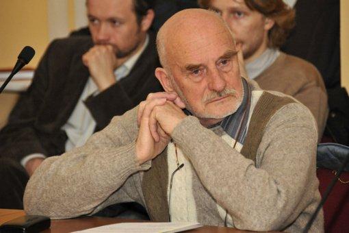 Mirė architektas, buvęs VDA rektorius prof. Vytautas Brėdikis