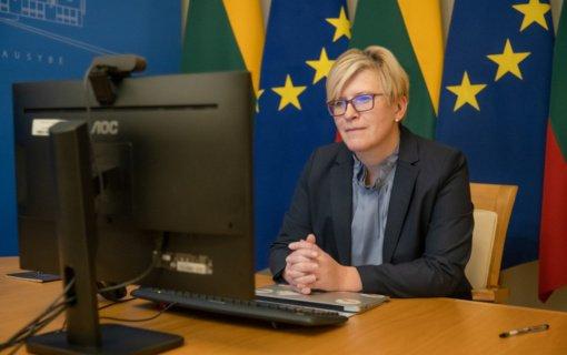 I. Šimonytė dėl Astravo AE kreipėsi į EK pirmininkę: svarbu įgyvendinti visas be išimties branduolinės saugos rekomendacijas