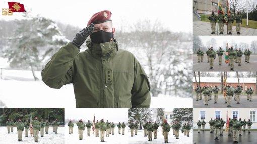 Pirmoji Savanorių pajėgų istorijoje – virtuali rikiuotė (stebėkite gyvai)