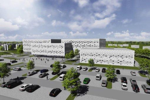Santaros slėnyje Vilniuje bus statomas VU Mokslo centras